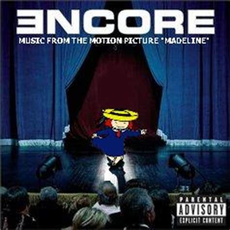 Eminem Curtains Up Encore Version by Album Cover Parodies Of Eminem Encore