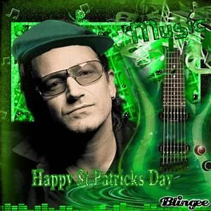 U2's Bono Playing Green Rock N Roll This St Patricks Day ...