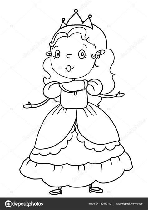Kleurplaat Kasteel Prinses by Koning Prinses Prins Kasteel Illustratie Tekening