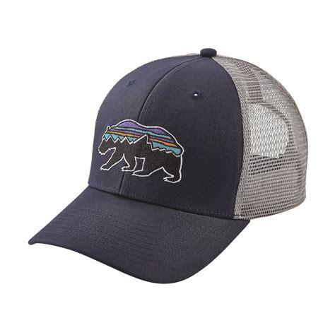 patagonia hat trucker bear roy fitz navy hats caps clothing fishing fly florida simms