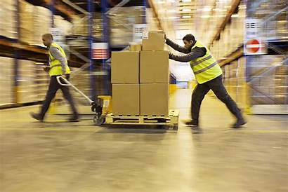 Warehouse Workers Wholesale Distributor Package Tracking Boxes