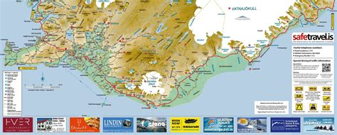 map  south iceland visit south iceland