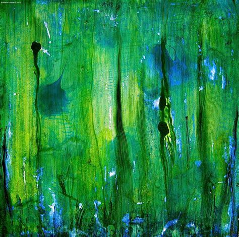 painting with green artdoxa community for contemporary art marla lombard