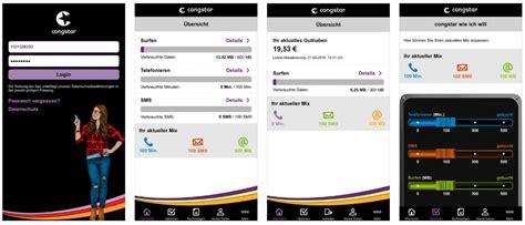 congstar app meincongstar erhaelt grosses update macerkopf