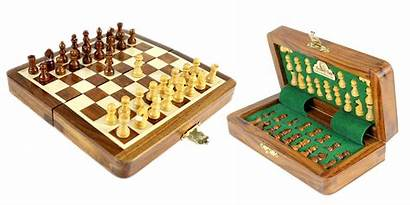 Chess Travel Sets Boards Wooden Board Magnetic