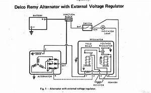 Alternator Warning Light Wiring Diagram