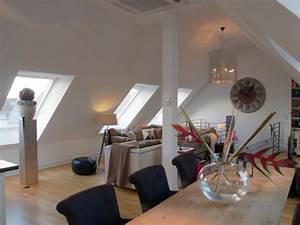 Kleine Dachwohnung Einrichten : gewagte einrichtung f r penthouse wohnung in der exquisiten stadt k ln ~ Bigdaddyawards.com Haus und Dekorationen