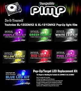 Turntable Pimp  Pop Target Light Mod