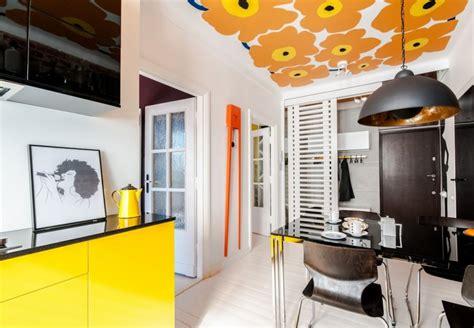 cuisine jaune et noir déco cuisine archives mademoiselle déco déco