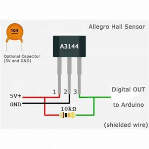 A3144 Hall Effect Sensor Problems