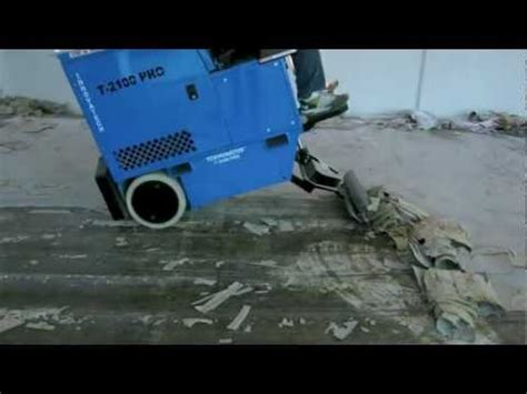 ride on floor scraper terminator t2100pro removing pu and vct in hong kong