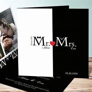 Mrs Berechnen : mr mrs moderne hochzeitseinladungen ~ Themetempest.com Abrechnung