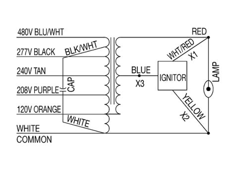 Wiring Diagram For High Bay Light by Wiring Diagrams
