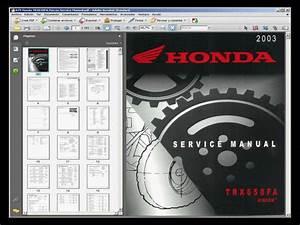 Honda Trx650fa Rincon Atv - Service Manual - Wiring Diagram