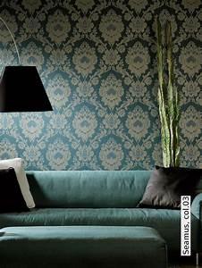 8 besten tapeten bilder auf pinterest wandfarben blaue With markise balkon mit tapete petrol