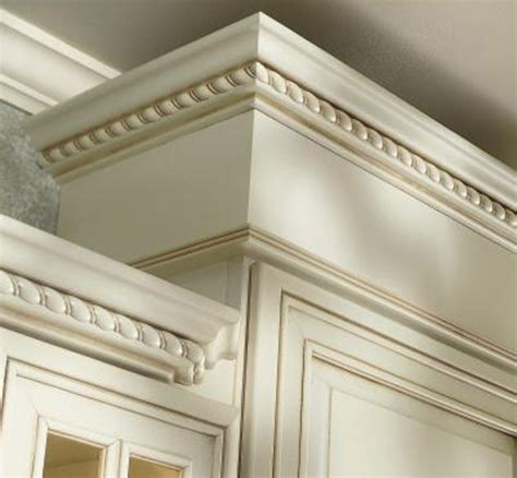crown molding on top of cabinets cream crown molding kitchens yahoo image search