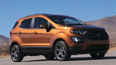2018 Ford Ecosport Configurations by 2018 Ford Ecosport Ses Drive Interior And Design