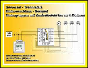 Steuerung Für Rolladenmotor : 2x trennrelais zentral steuerung f r rolladen antrieb ~ Michelbontemps.com Haus und Dekorationen
