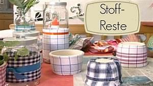 Basteln Mit Stoffresten : dekostoffe und stoffreste basteln mit stoff youtube ~ Lizthompson.info Haus und Dekorationen