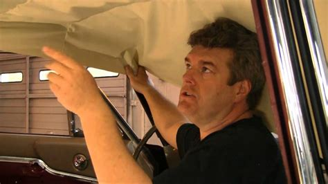 Episode 95 Ford Hardtop Coupe Bow Style Headliner For