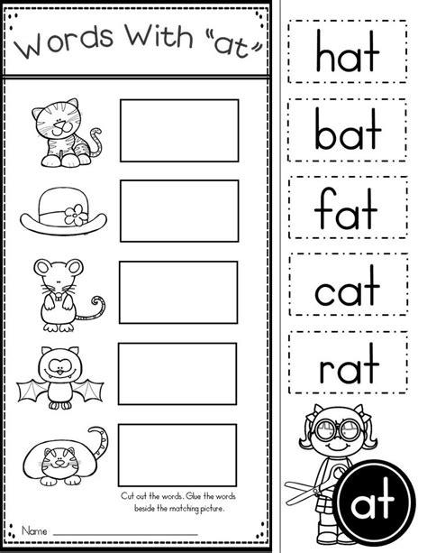 language arts worksheets for kindergarten worksheets for