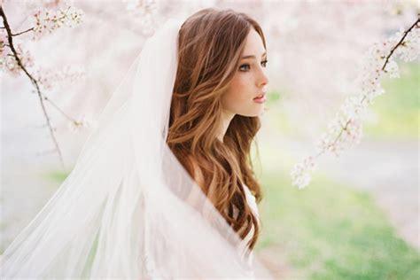 Wedding Hairstyles With Veil : Natural Wedding Hair Ideas