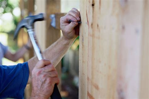 Which Fasteners Are Best For A Wood Fence?