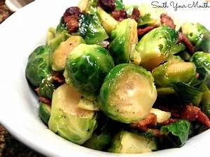 Brussels Sprouts With Bacon And Raisins Recipe Dishmaps