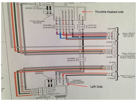 2013 Harley Davidson Glide Handlebar Wiring Diagram by Heated Grip Wiring Issue Harley Davidson Forums