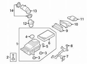 Audi Tt Engine Air Intake Hose  2009 W  O Awd  2009