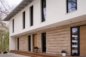 Haus Mit Holzverkleidung : hausfassade modern mit holz ~ Articles-book.com Haus und Dekorationen