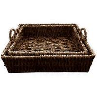 water hyacinth tray  handles rc willey furniture