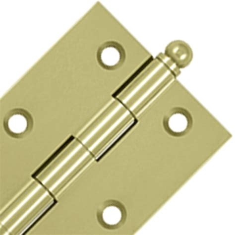 3 inch x 2 inch solid brass cabinet hinges unlacquered brass finish
