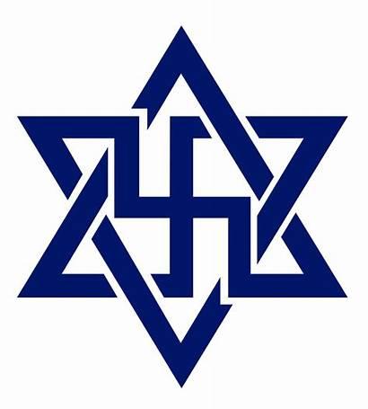 Symbol Raelian Swastika Wikipedia Movimiento Svg Raelism