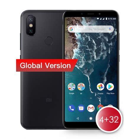 buy xiaomi mi a2 4gb ram 32gb rom smartphone black
