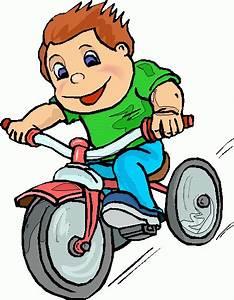 Kids Bike Clip Art