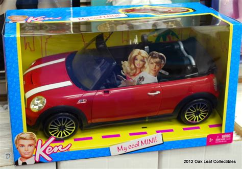 barbie red cars barbie ken my cool mini cooper red convertible car 2011