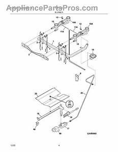 Parts For Frigidaire Fgf316dsd  Burner Parts