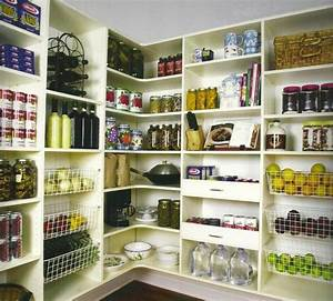 Kitchen beautiful and space saving kitchen pantry ideas for Kitchen food pantry ideas