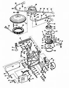 Evinrude Distributor Group Parts For 1970 85hp 85093b