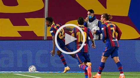Barcelona vs Getafe LaLiga 17 de Octubre 2020