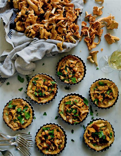 cuisine pratique et facile tartelettes de girolles et crème d ail pour 6 personnes