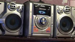 Powerful Bass Music Center Panasonic Sa Ak330