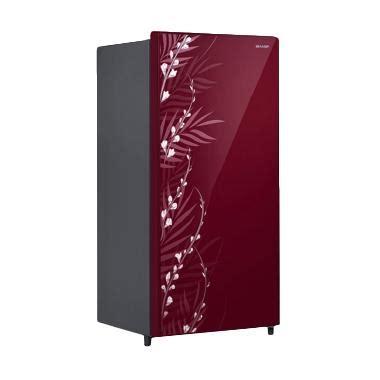jual sharp sj x185mg shine series kulkas 1 pintu harga kualitas terjamin blibli