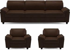 Sofa B Ware Online : dolphin oxford leatherette 3 1 1 brown sofa set price in india buy dolphin oxford ~ Bigdaddyawards.com Haus und Dekorationen