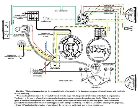 31 Ford Wiring Diagram by 31 Roadster No Spark From Coil The Ford Barn