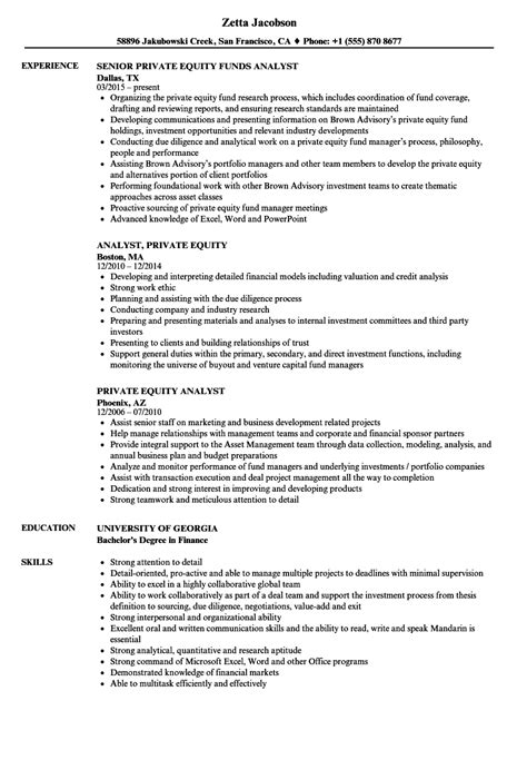 Venture Capital Resume by 96 Equity Analyst Resume Business Analyst