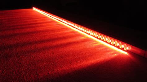 how to make car vehicle brake lights led bar wire