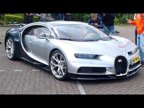 Bugatti On The Streets by 4x Bugatti On The Bugati Chiron Veyron Supersport