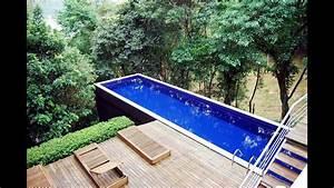 Pool Aus Container : best shipping container pools ideas youtube ~ Orissabook.com Haus und Dekorationen